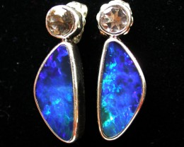 17.45 CTS DOUBLET EARRINGS /TOPAZ -FACTORY DIRECT  [SOJ1192]