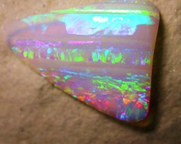 5.71ct 3D 2SIDED SKIN2SKIN BRAZILIAN CRYSTAL OPAL ONLY COLOR