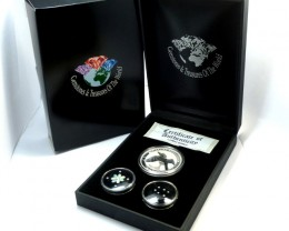 DIAMONDS  OPAL & KOOKABURRA  SILVER COIN SERIES -KM 09