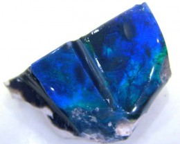 BLACK OPAL ROUGH  L. RIDGE 32.5 CTS DT-1413