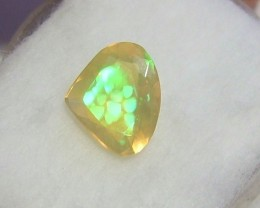 1.45ct MARVELLOUS PEAR FACETED WELLO CRYSTAL GEM OPAL HONEYCOMB