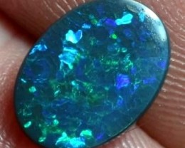 BLACK OPAL CUT STONE L.RIDGE 1.5 CTS BK-27