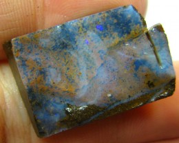 FACED AND SHAPED BOULDER OPAL READY TO POLISH 41.65 CTS