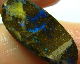 FACED AND SHAPED BOULDER OPAL READY TO POLISH 21.05 CTS