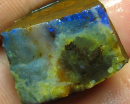 FACED AND SHAPED BOULDER OPAL READY TO POLISH 38.40 CTS