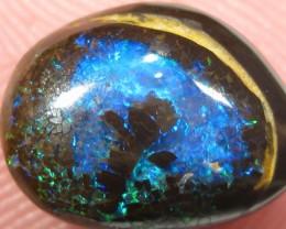 OpalWeb - Gem Quality Boulder Opal RingStone - 4.30Cts