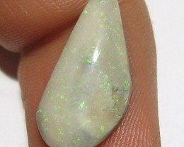3.50ct NICE ANDAMOOKA MATRIX OPAL WITH GREEN PINFIRE