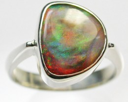 8 RING SIZE  SOLID OPAL  FACTORY DIRECT [SOJ1546]