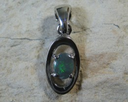 SOLID OPAL 925 SILVER PENDANT SSP/4
