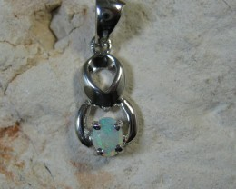 SOLID OPAL 925 SILVER PENDANT SSP/6