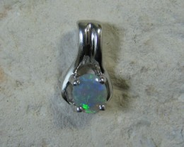 SOLID OPAL 925 SILVER PENDANT SSP/12