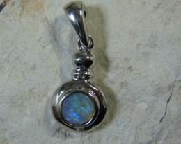 SOLID OPAL 925 SILVER PENDANT SSP/13