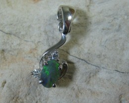 SOLID OPAL 925 SILVER PENDANT SSP/15