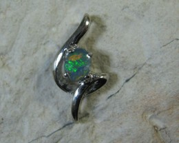 SOLID OPAL 925 SILVER PENDANT SSP/25