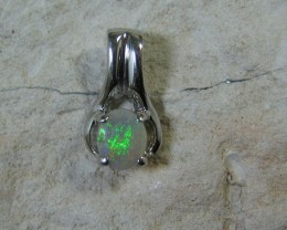 SOLID OPAL 925 SILVER PENDANT SSP/27