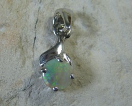 SOLID OPAL 925 SILVER PENDANT SSP/29