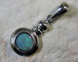 SOLID OPAL 925 SILVER PENDANT SSP/36