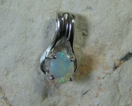 SOLID OPAL 925 SILVER PENDANT SSP/42