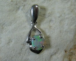 SOLID OPAL 925 SILVER PENDANT SSP/46