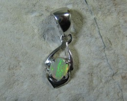 SOLID OPAL 925 SILVER PENDANT SSP/47