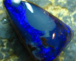 RARE TO GET CABOCHON CUT BOULDER OPAL LIKE THIS