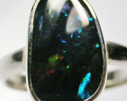 8.5 RING SIZE  SOLID OPAL  FACTORY DIRECT  [SOJ1581]SH