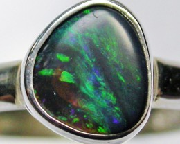 8.5 RING SIZE  SOLID OPAL  FACTORY DIRECT  [SOJ1583]SH