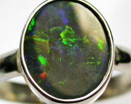 9 RING SIZE  SOLID OPAL  FACTORY DIRECT  [SOJ1588]