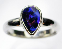 Silver Opal Rings