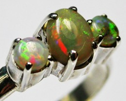 9 RING SIZE  SOLID OPALS  FACTORY DIRECT  [SOJ1649]