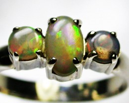 8 RING SIZE  SOLID OPALS  FACTORY DIRECT  [SOJ1651]