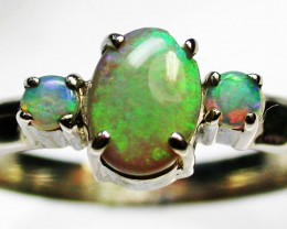 9 RING SIZE  SOLID OPALS  FACTORY DIRECT  [SOJ1653]6