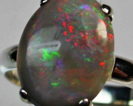 9 RING SIZE SOLID OPAL  FACTORY DIRECT [SOJ1683]SH
