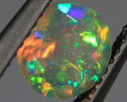 .84 CT~BRILLIANT ETHIOPIAN WELO OPAL~FACETED ROUND