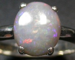 8 RING SIZE SOLID OPAL  FACTORY DIRECT [SOJ1699]