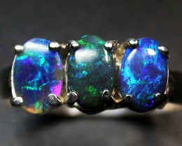 8 RING SIZE SOLID OPAL  FACTORY DIRECT [SOJ1719]