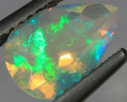 .92CT~BRIGHT ETHIOPIAN WELO OPAL~FACETED PEAR