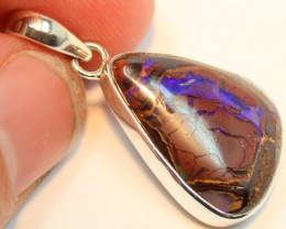 26.65 CTS BOULDER OPAL PENDANT STERLING SILVER 925 A9521