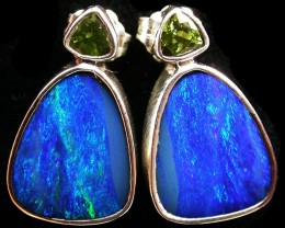27 CTS DOUBLET EARRING WITH PERIDOT-DIRECT FACTORY [SOJ1866]