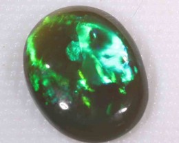 BRIGHT BLACK OPAL FROM LR - 3.50 CTS