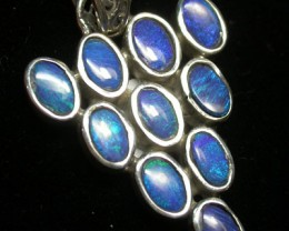 19 CTS DOUBLET PENDANT CLUSTER   [SOJ1432 ]