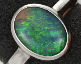 9 RING SIZE SOLID OPAL FACTORY DIRECT [SOJ1452 ]SH