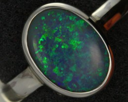9 RING SIZE SOLID OPAL FACTORY DIRECT [SOJ1453]
