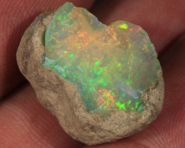 13.68CT~BRILLIANT ETHIOPIAN WELO OPAL ROUGH