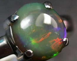 7 RING SIZE SOLID OPAL FACTORY DIRECT [SOJ2046]