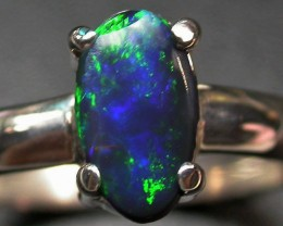 6.5 RING SIZE SOLID OPAL FACTORY DIRECT [SOJ2049]SH