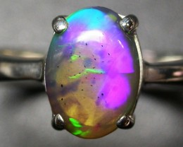8 RING SIZE SOLID OPAL FACTORY DIRECT [SOJ2071]
