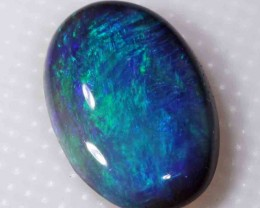 FREE SHIPPING  1.25 CTS BLACK OPAL FROM LR