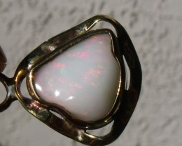 Welo Opal Gem & Gold Plated Silver Pendant P056