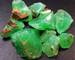 72.58 CTS A GRADE GREEN OPAL [PRASE OPAL] TANZANIA [VS5903]